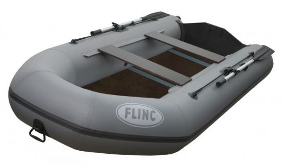 моторная надувная лодка flinc 290l green
