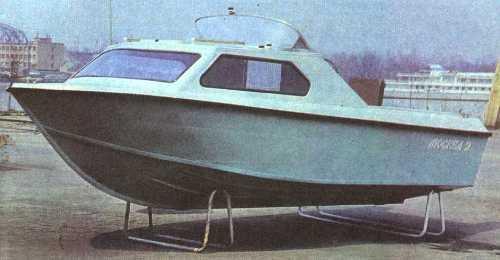 советские лодки с каютой