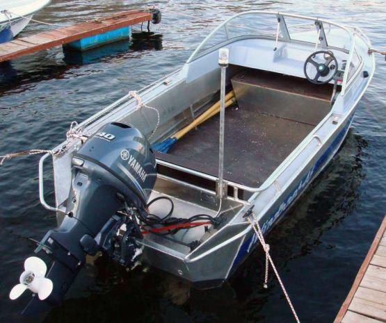 стальные и алюминиевые лодки