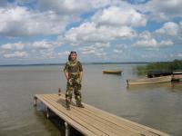 рыбалка на плещеевом озере летом с берега