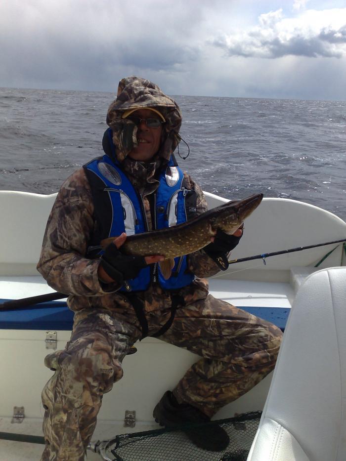 ловля в июне на рыбинке