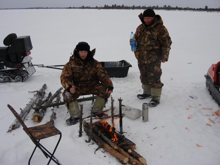 экспедиция на рыбалку