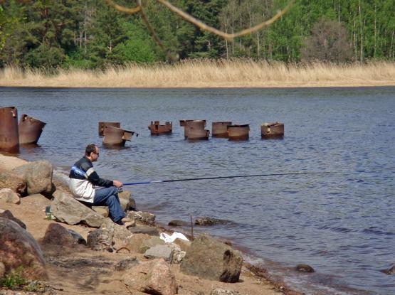 финский залив сети рыбалка