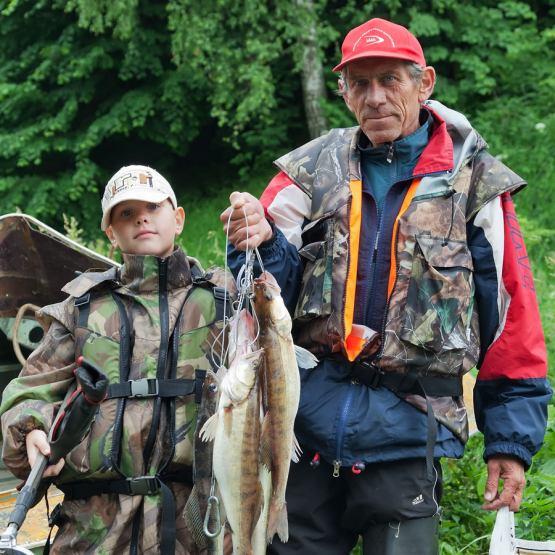 кондинские рыбаки