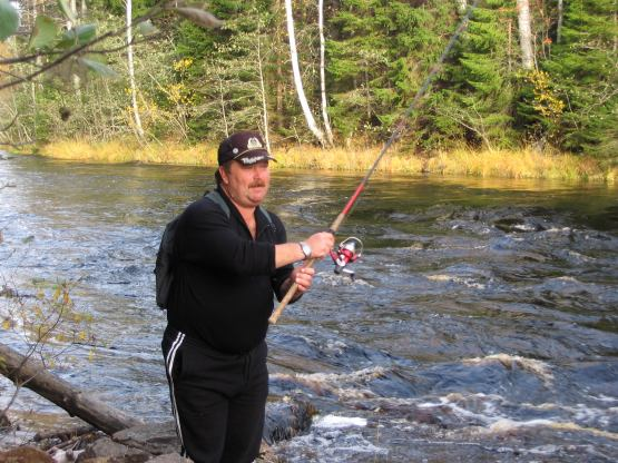 рыбалка на ладоге с егерем