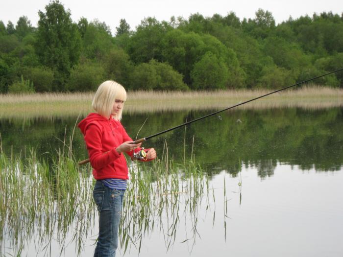 рыбалка речной перекат