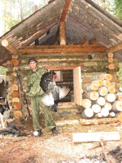 изба охотника и рыбака фото