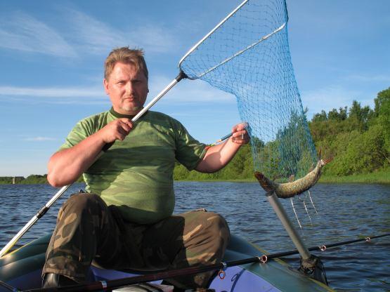 рыбалка на краснофарфорном