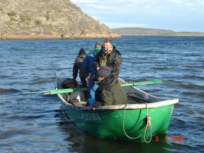 снасти рыбалки белого моря