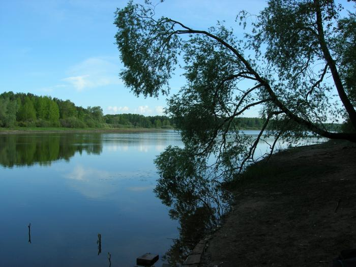 рыбалка рядом с городом истра