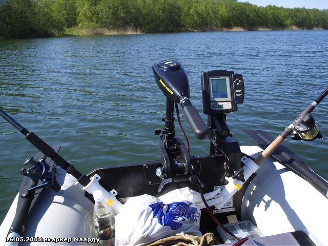 практик эхолот на лодке