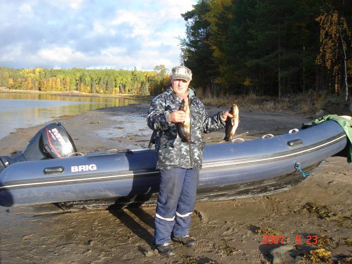 фото с рыбалки на белой