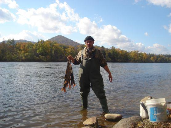 рыбалка на реке чукен