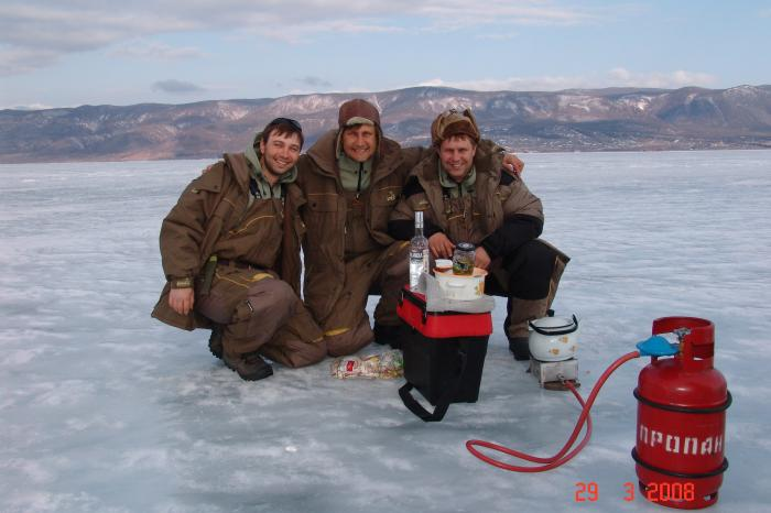 март рыбалка на байкале