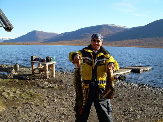путевка на рыбалку в красноярском крае