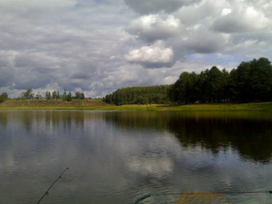 Озеро пахомово рыбалка