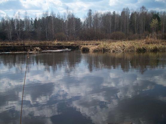 рыбалка в кушве на пруду