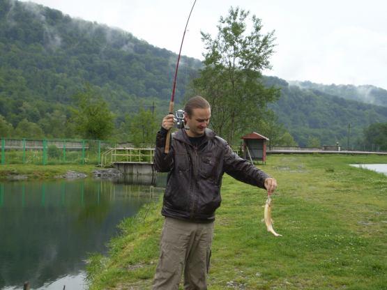 адлер форель рыбалка